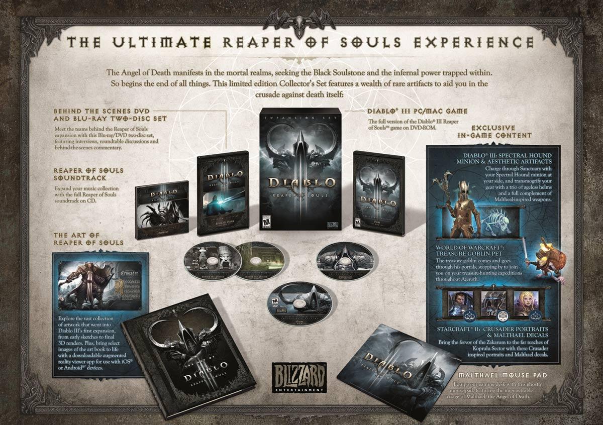 Diablo Reaper of Souls koleksiyon