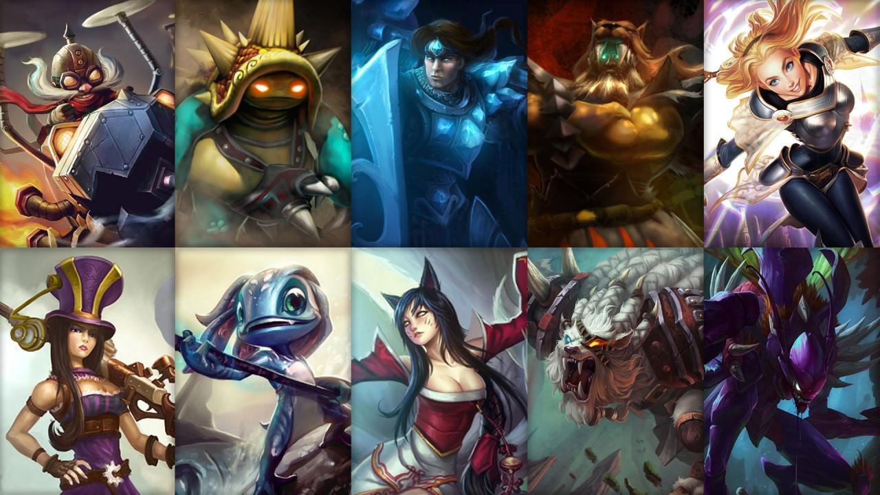 League of Legends Haftalık Şampiyon Rotasyon