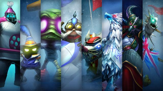 League of Legends Kış Oyunları Kostümleri