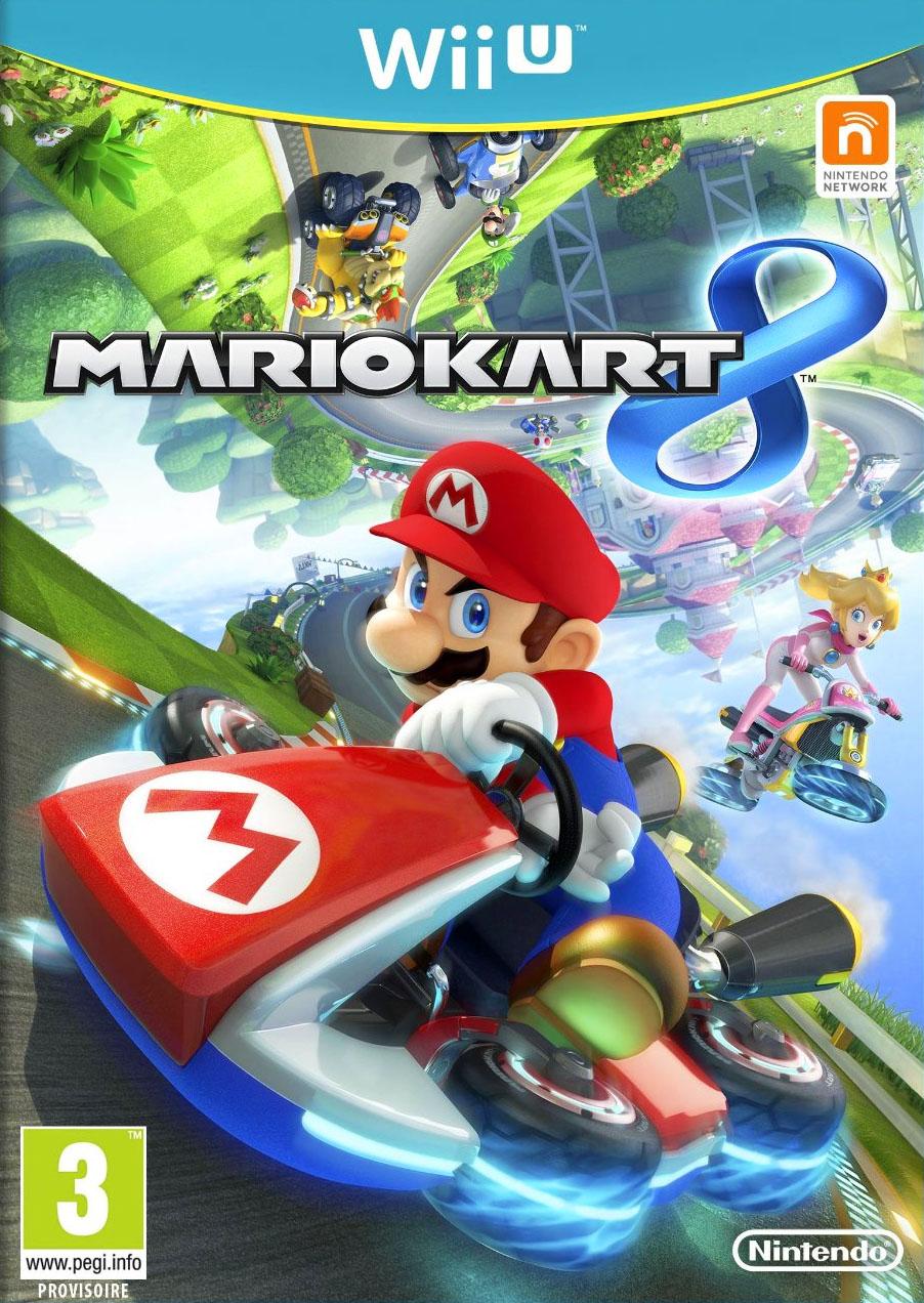 Mario Kart 8 kapak