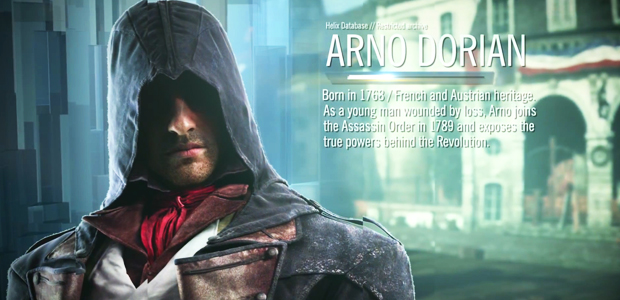 Assassin's Creed Unity arno dorian