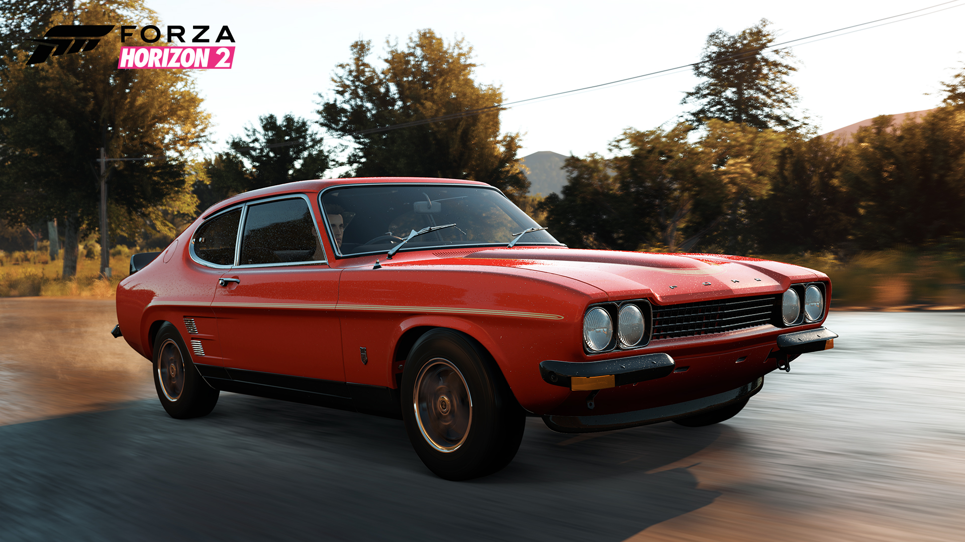 Forza Horizon 2 1973 Ford Capri RS3100