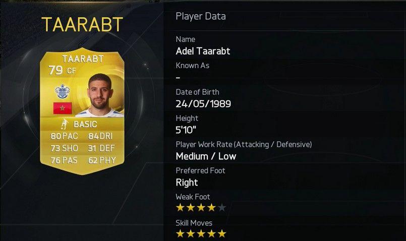 Adel Taarabt  - Queens Park Rangers (England)