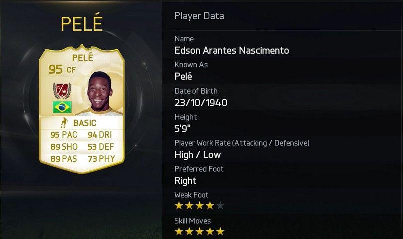 Pelé - FUT Legends (Xbox Exclusive)