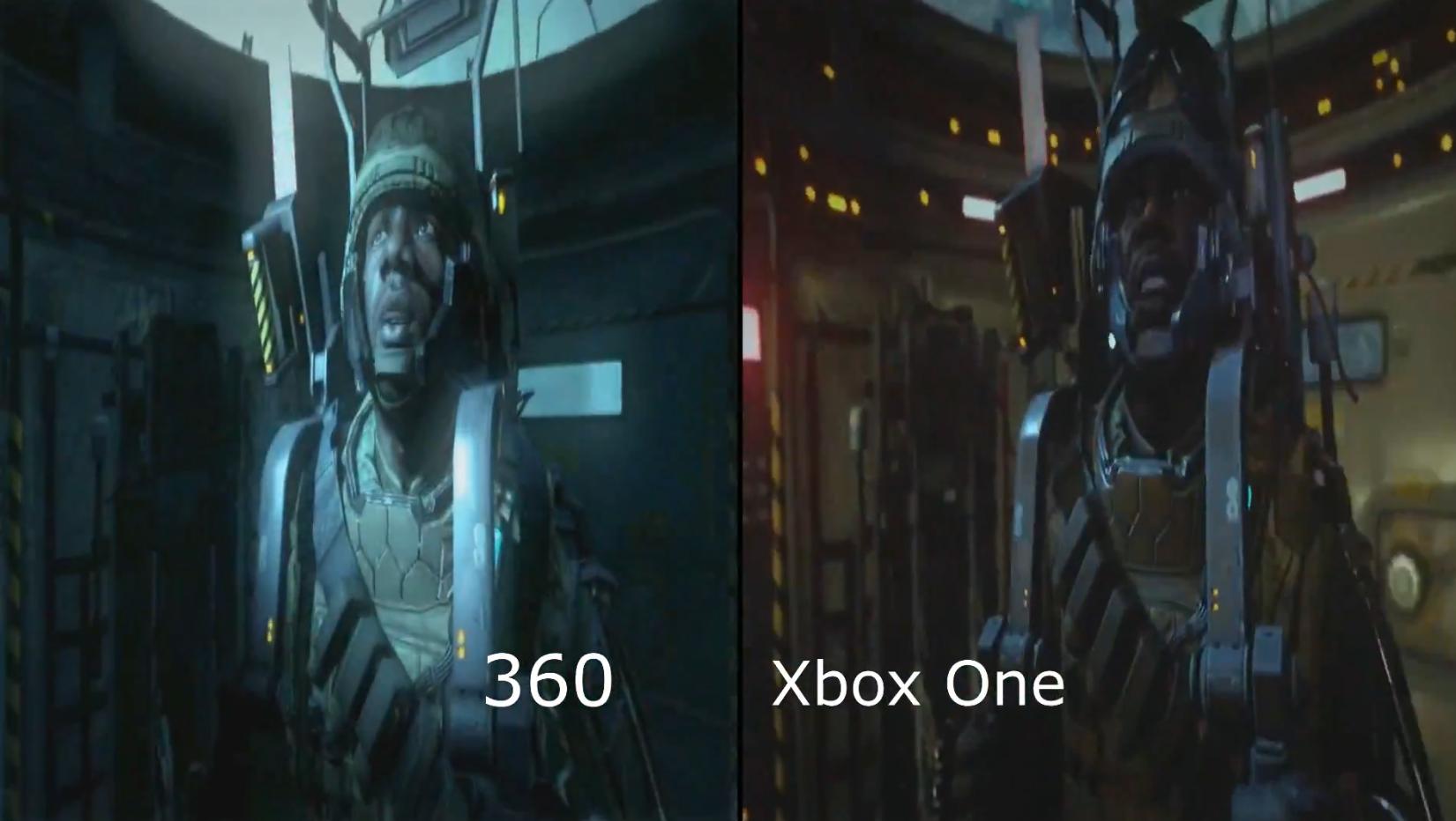 Call of Duty Advanced Warfare xbox one vs xbox 360