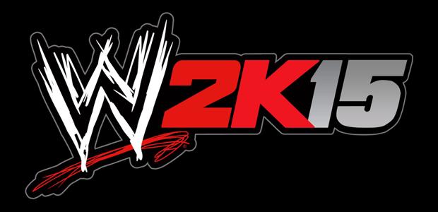 WWE 2K15 black logo