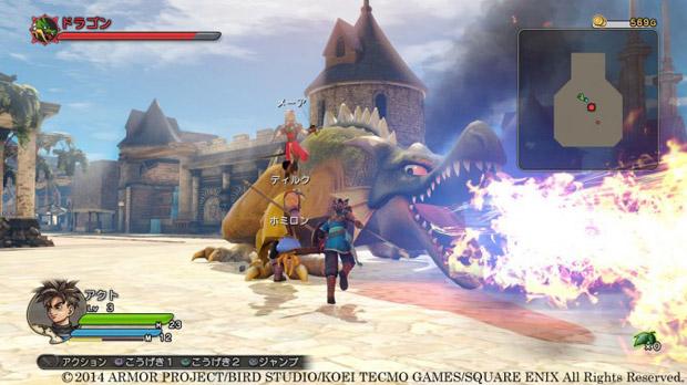 Dragon Quest Heroes screenshot 1