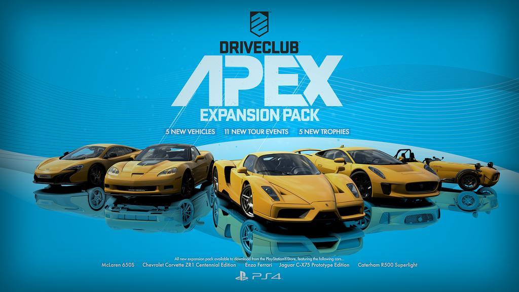 DriveClub apex dlc