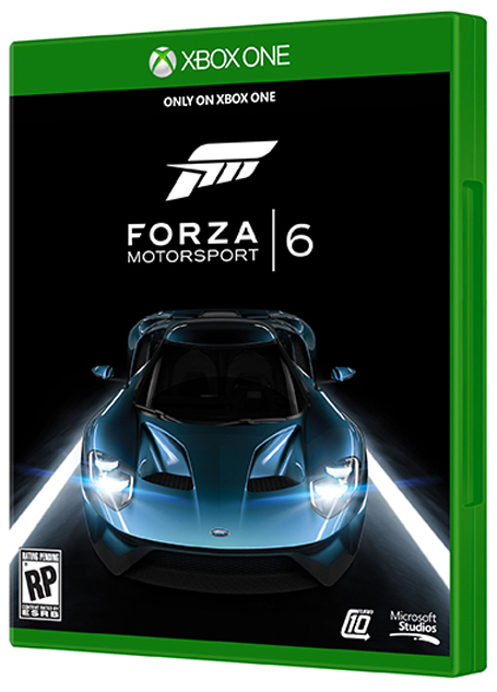 Forza Motorsport 6 kapak