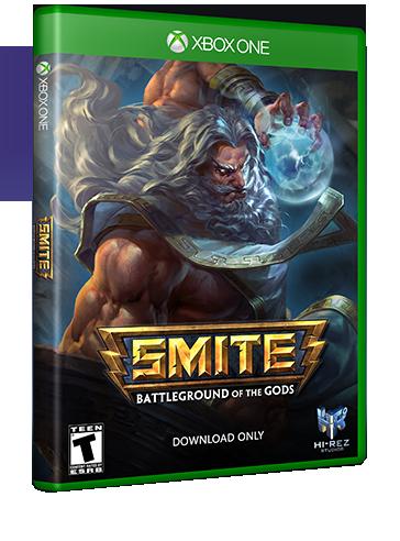 smite battleground of the gods xbox one