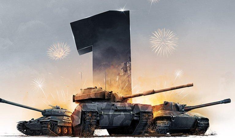 World of Tanks year 1