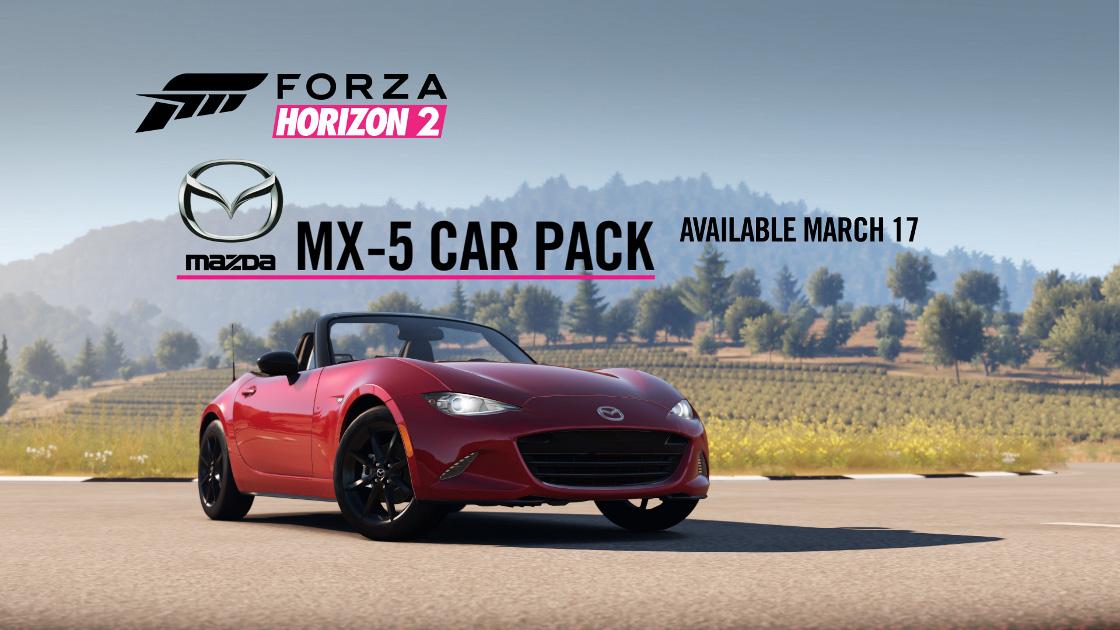 forza hoizon 2 Mazda MX-5 Challenge