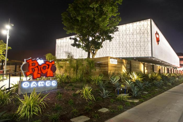 riot games los angeles office