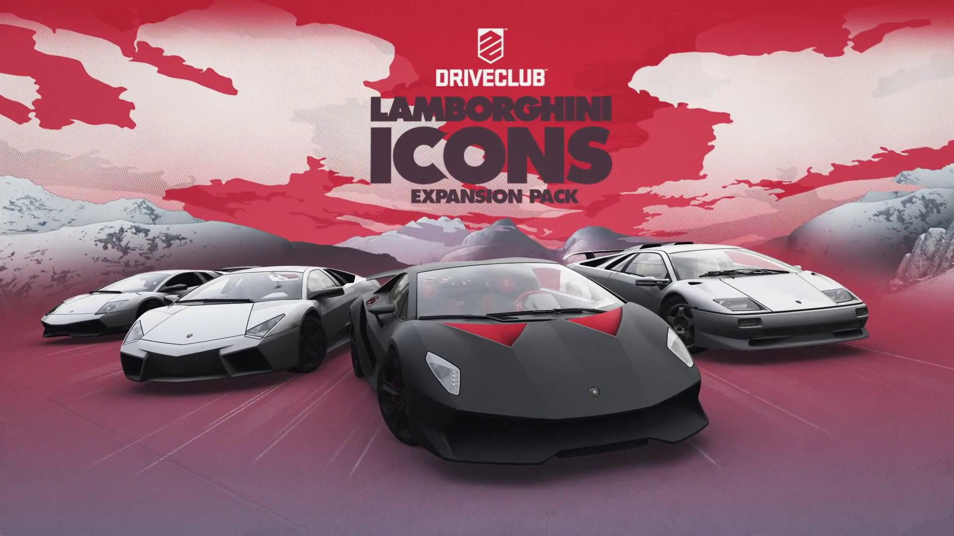 DriveClub Lamborgini Icons pack