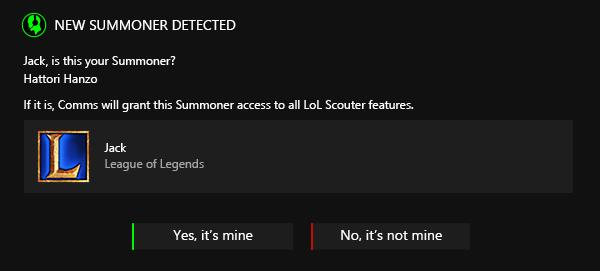 Razer Comms LoL Scouter 3