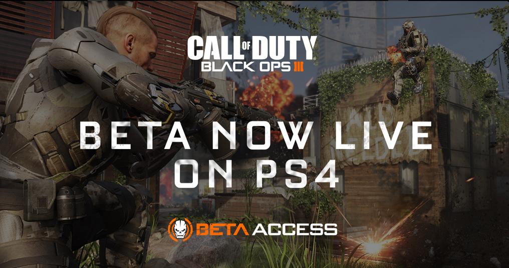 cod black ops 3 beta ps4