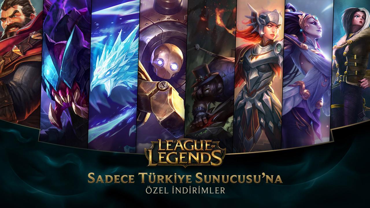 league of legends tr 12 aralik indirimleri