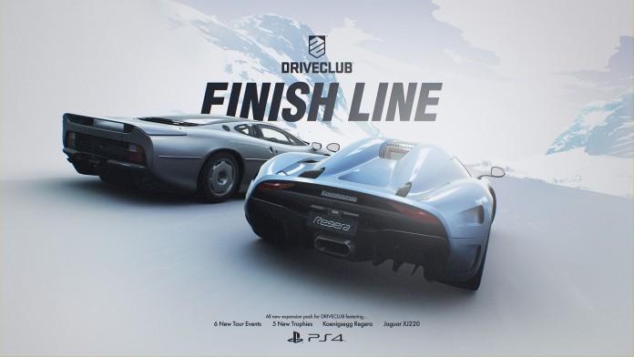 Driveclub finish line