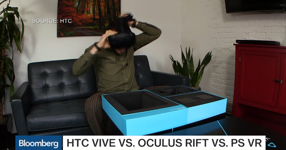 HTC Vive box 3