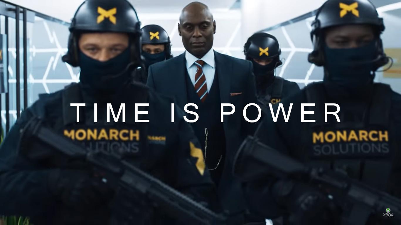 Quantum Break time is power