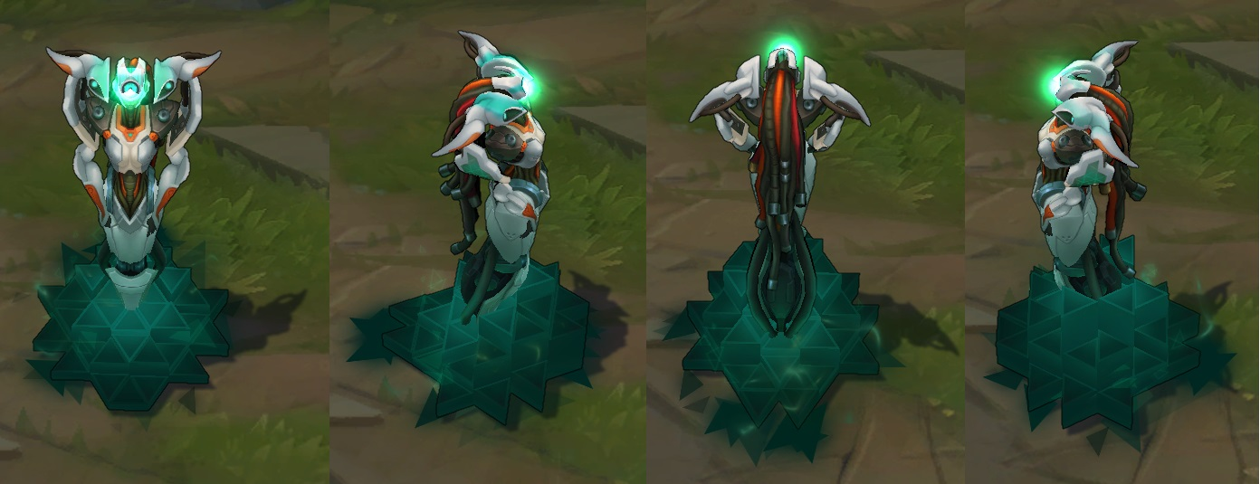 Robot Lissandra on arka