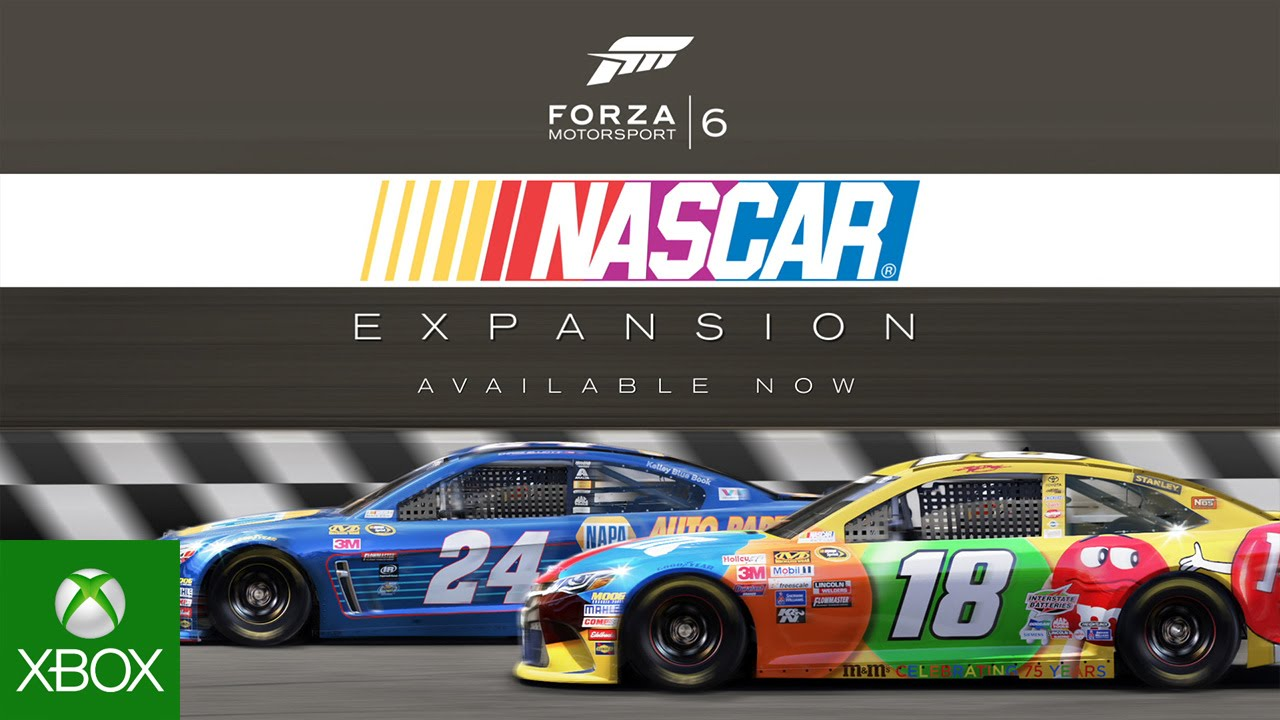 Forza Motorsport 6 Nascar