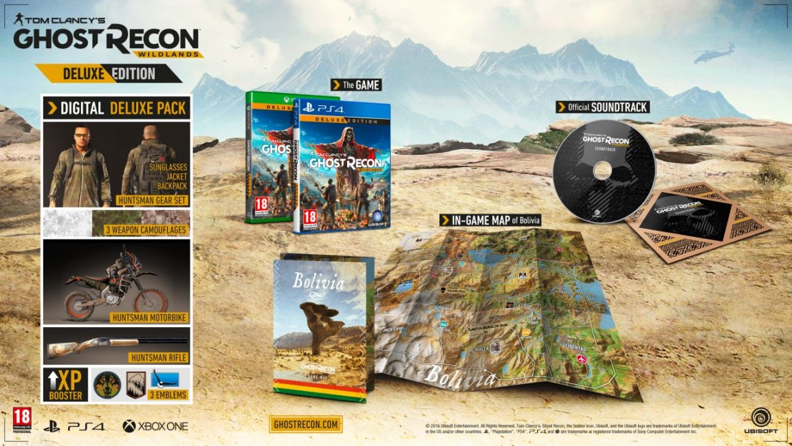 ghost recon deluxe edition