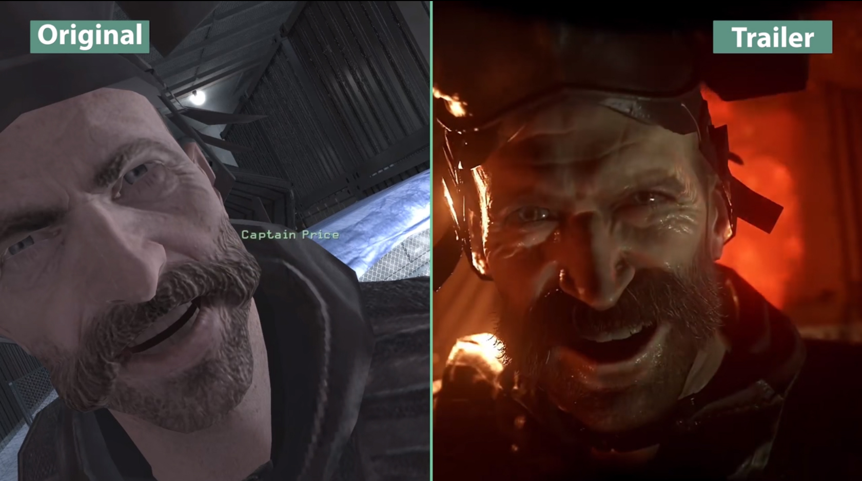 Call of Duty Modern Warfare vs Remastered