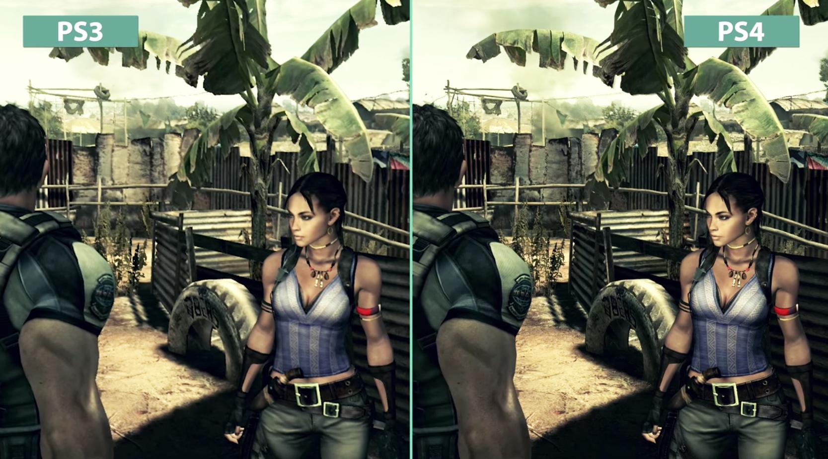 Resident Evil 5 grafik karsilastirmasi